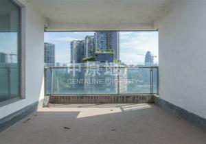 金科廊桥水岸,清水4房,户型方正,采光十足,视野开阔